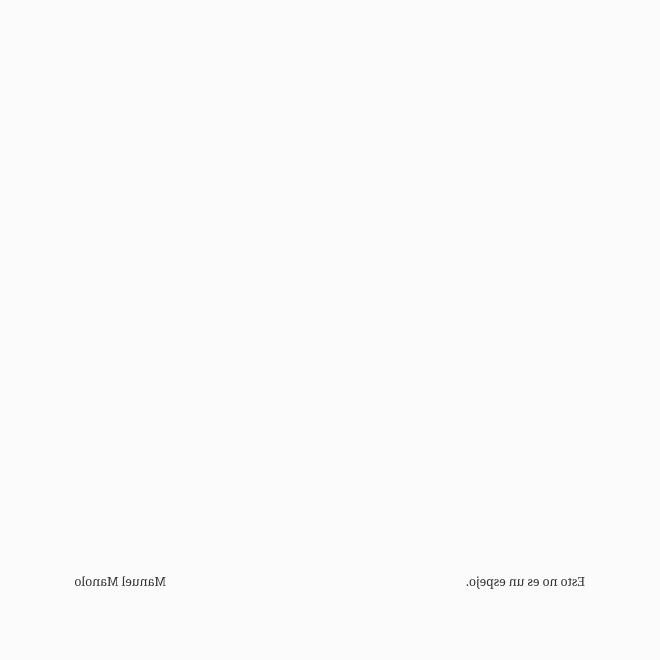 Manuel Manolo - Esto no es un espejo (2020) - ED210606.png