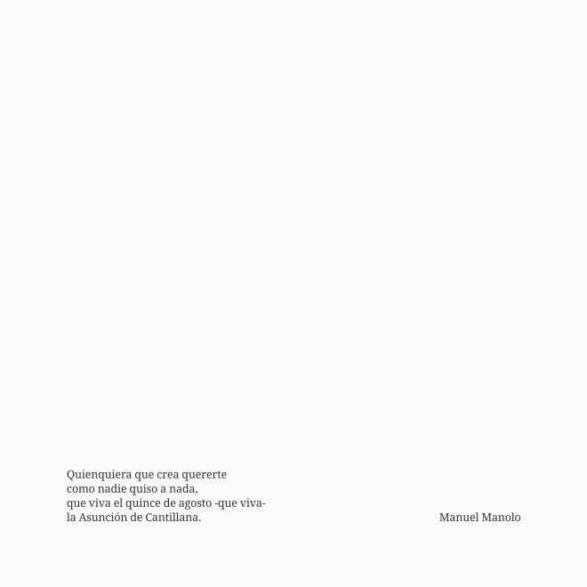 Manuel Manolo - Que viva la Asunción de Cantillana (2021) - ED210814
